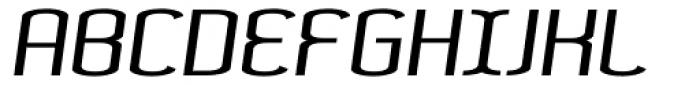 Lunarmod Italic Font UPPERCASE