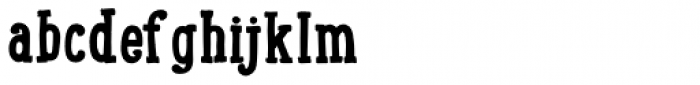 LunchBox Slab Bold Font LOWERCASE