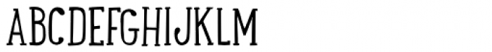 LunchBox Slab Light Font UPPERCASE