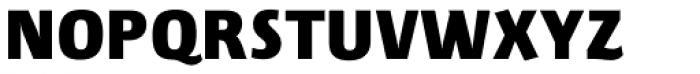 Lupa Sans Pro Black Font UPPERCASE