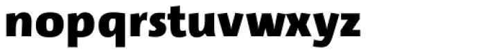 Lupa Sans Pro Black Font LOWERCASE