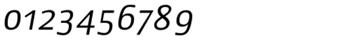 Lupa Sans Pro Italic Font OTHER CHARS