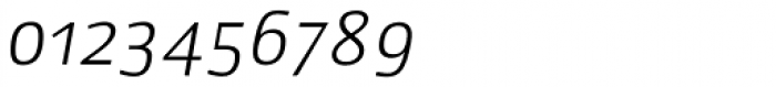 Lupa Sans Pro Light Italic Font OTHER CHARS