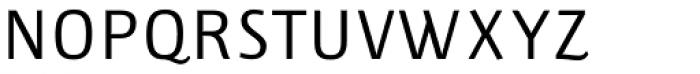 Lupa Sans Pro Regular Font UPPERCASE