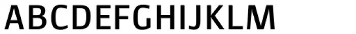 Lupa Sans Pro SemiBold Font UPPERCASE