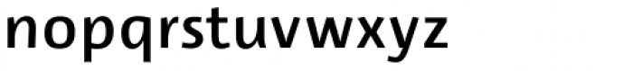 Lupa Sans Pro SemiBold Font LOWERCASE