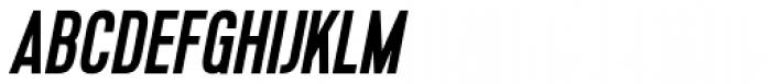 Lupo Italic Font UPPERCASE
