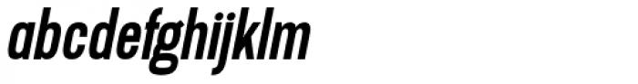 Lupo Italic Font LOWERCASE