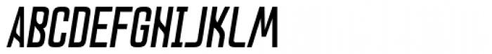 Lushgunin Bold Italic Font UPPERCASE