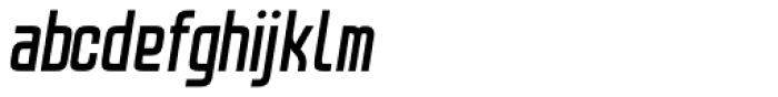 Lushgunin Bold Italic Font LOWERCASE