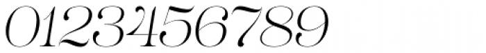 Lust Pro Demi No1 Italic Font OTHER CHARS