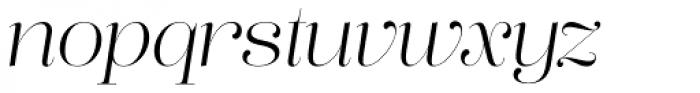 Lust Pro Demi No2 Italic Font LOWERCASE