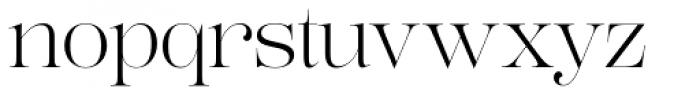 Lust Pro Demi No2 Font LOWERCASE