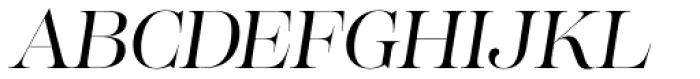 Lust Pro Demi No3 Italic Font UPPERCASE