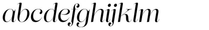 Lust Pro Demi No3 Italic Font LOWERCASE