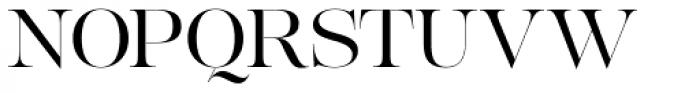 Lust Pro Demi No3 Font UPPERCASE