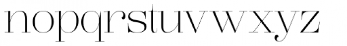 Lust Pro Didone Demi No1 Font LOWERCASE