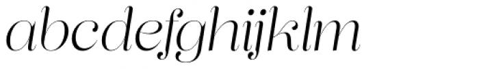 Lust Pro Didone Demi No2 Italic Font LOWERCASE