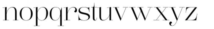 Lust Pro Didone Demi No2 Font LOWERCASE
