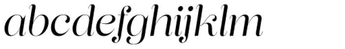 Lust Pro Didone Demi No3 Italic Font LOWERCASE