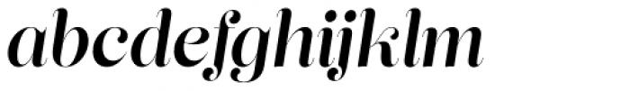 Lust Pro Didone Demi No4 Italic Font LOWERCASE