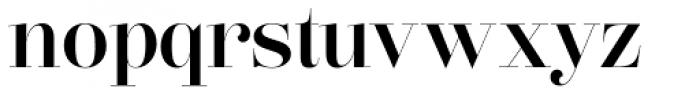Lust Pro Didone Demi No4 Font LOWERCASE