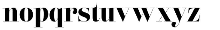 Lust Pro Didone Demi No5 Font LOWERCASE