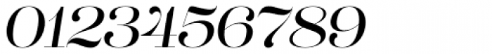 Lust Pro Didone No3 Italic Font OTHER CHARS
