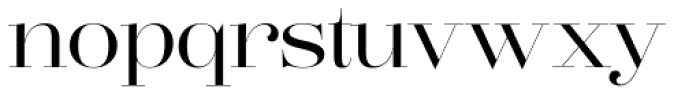 Lust Pro Didone No3 Font LOWERCASE