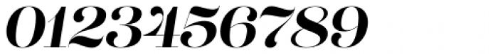 Lust Pro Didone No4 Italic Font OTHER CHARS