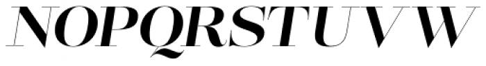 Lust Pro Didone No4 Italic Font UPPERCASE