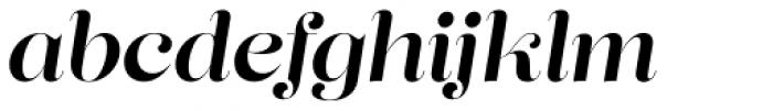 Lust Pro Didone No4 Italic Font LOWERCASE
