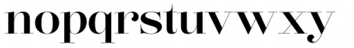 Lust Pro Didone No4 Font LOWERCASE