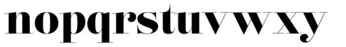 Lust Pro Didone No5 Font LOWERCASE