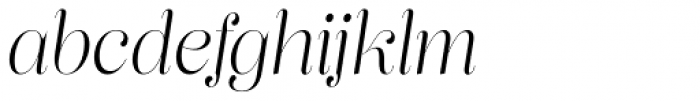 Lust Pro Didone Slim No2 Italic Font LOWERCASE