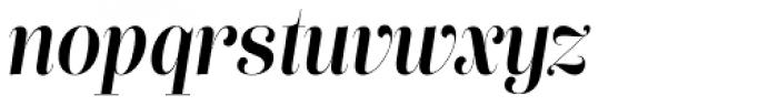 Lust Pro Didone Slim No4 Italic Font LOWERCASE