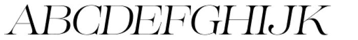 Lust Pro No2 Italic Font UPPERCASE