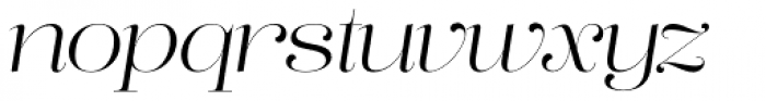 Lust Pro No2 Italic Font LOWERCASE