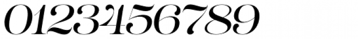Lust Pro No3 Italic Font OTHER CHARS