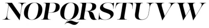 Lust Pro No4 Italic Font UPPERCASE