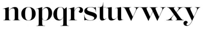 Lust Pro No4 Font LOWERCASE