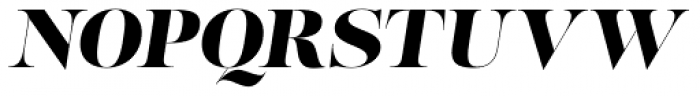 Lust Pro No5 Italic Font UPPERCASE