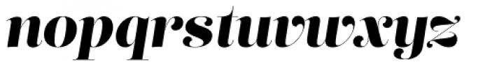 Lust Pro No5 Italic Font LOWERCASE