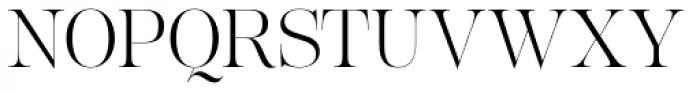 Lust Pro Slim No2 Font UPPERCASE