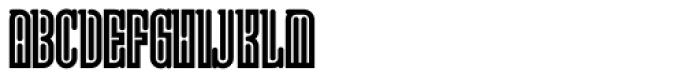 Lusta Eighty Serif Font UPPERCASE