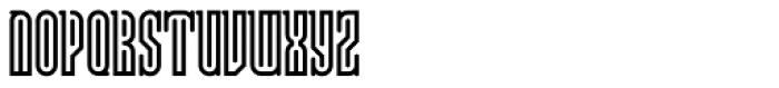 Lusta Forty Serif Font UPPERCASE