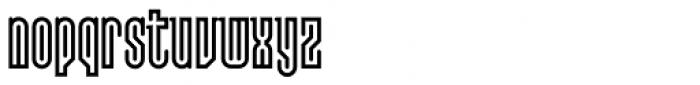 Lusta Forty Serif Font LOWERCASE