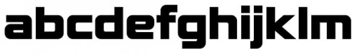 Lustra Black Font LOWERCASE
