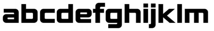 Lustra Bold Font LOWERCASE