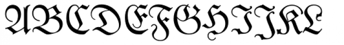 Luthersche Fraktur Font UPPERCASE
